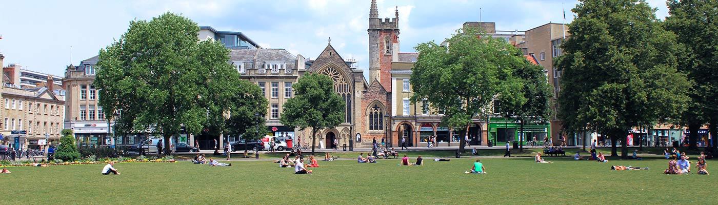 College Green, Bristol.