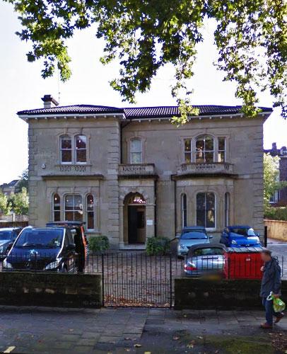 DJ Foley offices at 15 Whiteladies Road, Bristol.